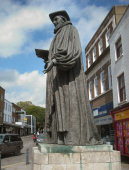 statue of George Abbot in Guildford